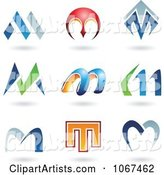 Vector Letter Logos Clipart by Cidepix