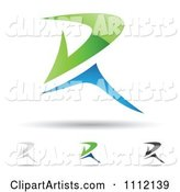 Vector Letter R Clipart by Cidepix