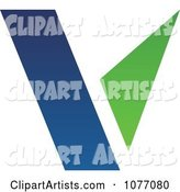 Vector Letter V Clipart by Cidepix