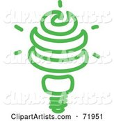 Vector Light Bulb Clipart by Inkgraphics