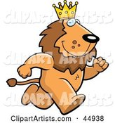 Vector Lion Clipart by Cory Thoman
