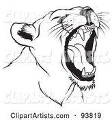 Vector Lion Clipart by Dero