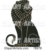 Vector Lion Clipart by JVPD