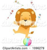 Vector Lion Clipart by Qiun