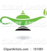 Vector Magic Lamp Clipart by Cidepix