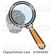Vector Magnifying Glass Clipart by Hit Toon