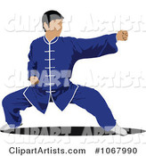 Vector Martial Arts Clipart by Leonid