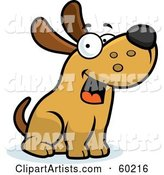 Vector Max Dog Character Clipart by Cory Thoman