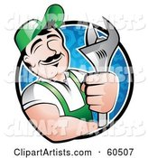 Vector Mechanic Clipart by TA Images
