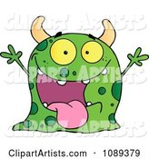 Vector Monster Clipart by Hit Toon