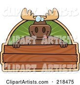 Vector Moose Clipart by Cory Thoman