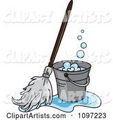 Vector Mopping Clipart by Rogue Design and Image