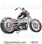 Vector Motorcycle Clipart by Andy Nortnik