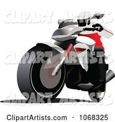 Vector Motorcycle Clipart by Leonid