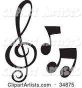 Vector Music Clipart by Alexia Lougiaki