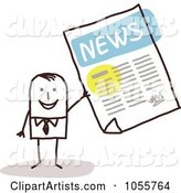 Vector News Clipart by NL Shop