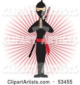 Vector Ninja Clipart by Mheld
