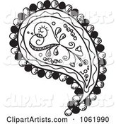 Vector Paisley Clipart by Inkgraphics