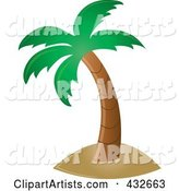 Vector Palm Tree Clipart by Rogue Design and Image