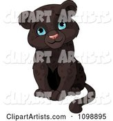 Vector Panther Clipart by Pushkin