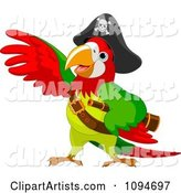 Vector Parrot Clipart by Pushkin