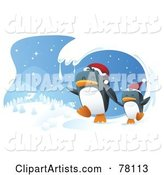 Vector Penguin Clipart by Qiun