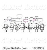 Vector People Clipart by NL Shop