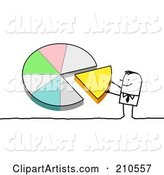 Vector Pie Chart Clipart by NL Shop