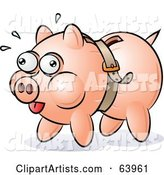 Vector Piggy Bank Clipart by Gnurf