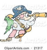 Vector Pirate Clipart by Gnurf
