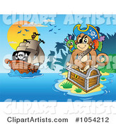 Vector Pirates Clipart by Visekart