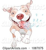 Vector Pit Bull Clipart by Pushkin