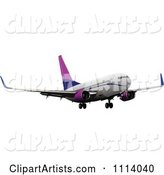 Vector Plane Clipart by Leonid