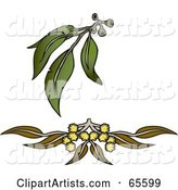 Vector Plant Clipart by Dennis Holmes Designs