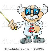 Vector Professor Clipart by Dennis Holmes Designs