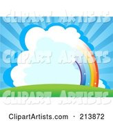 Vector Rainbow Clipart by Pushkin