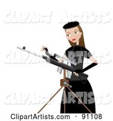 Vector Rifle Clipart by Mheld