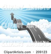 Vector Road Clipart by Qiun