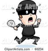 Vector Robber Clipart by Cory Thoman