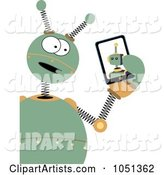 Vector Robot Clipart by Mheld