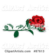 Vector Rose Clipart by Rogue Design and Image