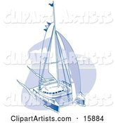Vector Sailing Clipart by Andy Nortnik
