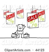 Vector Sales Clipart by NL Shop