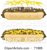 Vector Sandwich Clipart by Inkgraphics