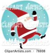 Vector Santa Clipart by Qiun