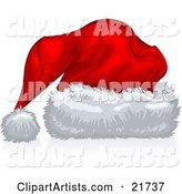 Vector Santa Hat Clipart by Tonis Pan