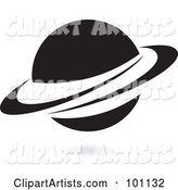 Vector Saturn Clipart by Cidepix