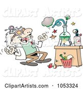 Vector Scientist Clipart by Gnurf