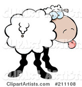 Vector Sheep Clipart by Hit Toon