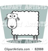 Vector Sheep Clipart by Qiun